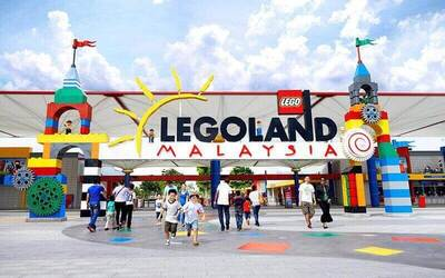Family Package: 1-Day Admission to Legoland Theme Park for 2 Adults and 1 Child