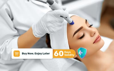 Buy 1 Get 1 Plasma Shower for Bad Pimple / Repair + Serum + Ice Globe + Mask + Doctor Consultation