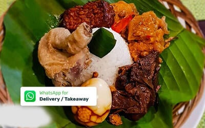 Paket Nasi Gudeg Komplit - Delivery & Take Away