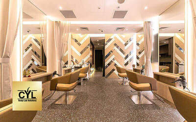 Clarke Quay Central: Nature's Organic Hair Colour / Highlights + PH Balance Recovery Hair Treatment for 1 Person