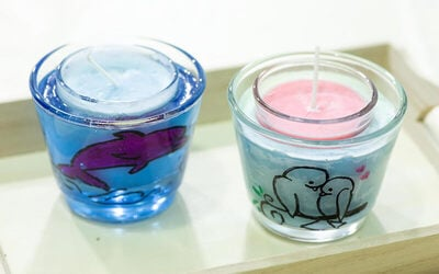 1.5-Hour Candle Making Workshop with Glass Holder for 1 Person