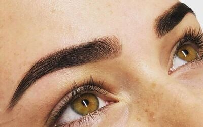 1x Brow Henna + Keratin Lash Lift - Available for Home Service