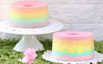 Online Deco Chiffon Cake Baking Class for 1 Person