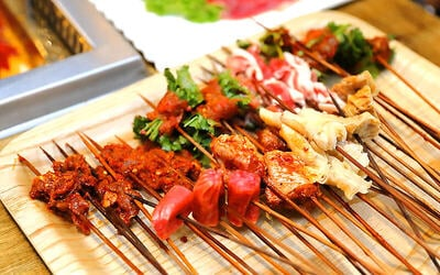 Chuan Chuan Skewers Hotpot for 4 People