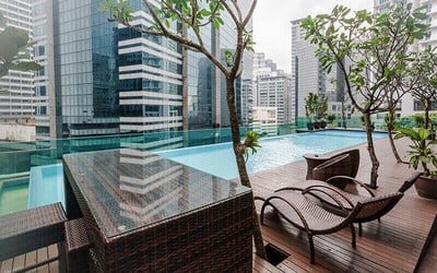 Bukit Bintang: 2D1N Stay in Premier Comfort Quad with Breakfast for 4 People