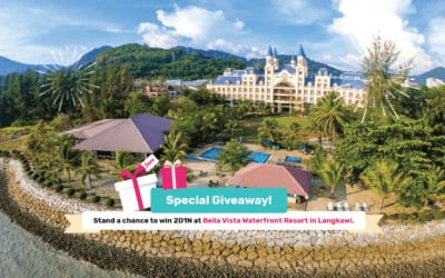Special Giveaway! Stand a chance to win 2D1N at Bella Vista Waterfront Resort in Langkawi