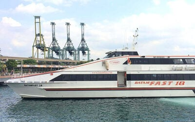 Batam Fast Ferry Return Tickets with Terminal Fees for 1 Person