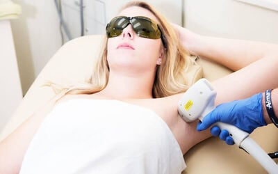 Underarm IPL Hair Removal for 1 Person
