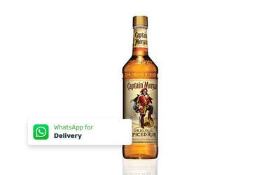1 Bottle Captain Morgan Rum 750 ml - Delivery