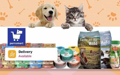 [Flash] $50 Perromart Cash Voucher with Free Delivery (New Users)