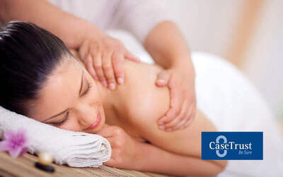 60-Minute Full Body Massage with Oil + 10-Minute Back Scrub for 1 Person
