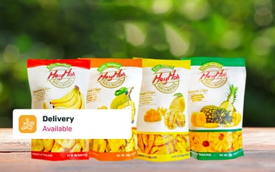 Free Delivery: Eight (8) Customisable 100% Natural Fruit Packs
