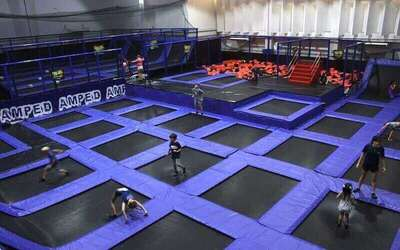 (Sat - Sun) 2-Hour Trampoline Park Access for 2 People