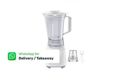 Free Delivery: One (1) Toshiba BL-60PHNMY 1.5-Litre Blender