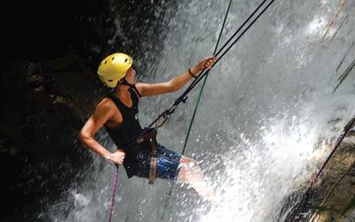 River Tubing and Water Abseiling for 4 People