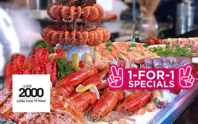 (Sun - Thu) 1-For-1 Seafood Extravaganza Dinner Buffet