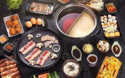 All You Can Eat Japanese Grill and Shabu-Shabu for 2 Persons