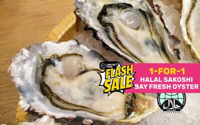[Flash] 1-for-1 Sakoshi Bay Fresh Oyster Deal