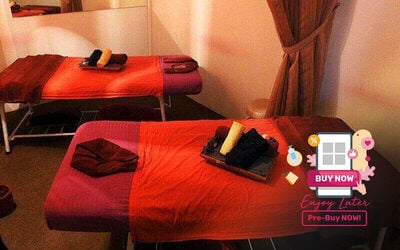 1.5-Hour Full Body Massage / Foot Reflexology with Pillow Treatment for 2 People
