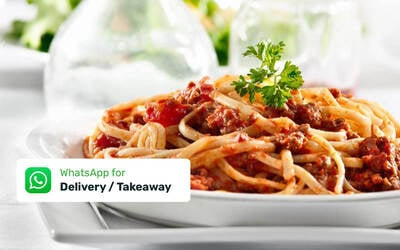 Pasta Meal for 4 Person with Delivery