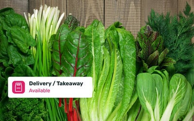Eight (8) Types of Cameron Organic Vegetables with Delivery