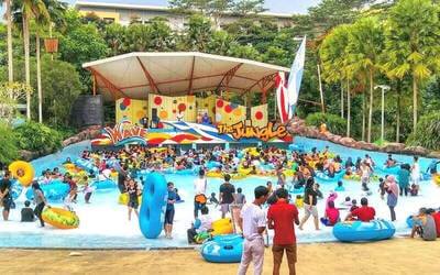 [Weekdays] 1 Tiket Masuk Jungle Waterpark