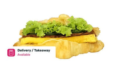 Free Delivery: Sandwich and Coffee Set for 3 People