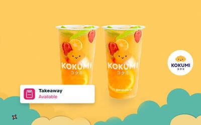 [Buy 1 Get 1] Lychee Coldbrew Tea - Take Away