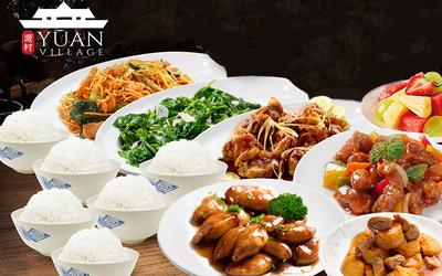 Set Menu Masakan Asia untuk 6 Orang - Delivery & Take Away