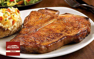 RM50 Cash Voucher for Outback Steakhouse Burgers, Steaks, Ribs, and More