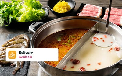 [6.6] Free Delivery: COCA Hotpot for 4 - 6 People with Soup Base (Strictly delivery only)