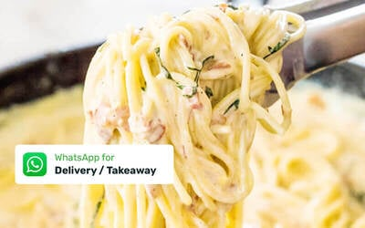 One (1) DIY Spaghetti Carbonara Bundle for 4 - 6 People with Delivery