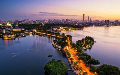 Hanoi: 7D6N Stay in Hanoi Sky Hotel with 3.5* Apricot Cruise for 1 Person