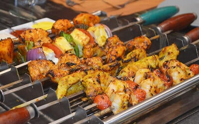 Premium Live Tabletop BBQ Grill with Buffet Lunch / Dinner for 1 Person