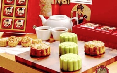 [#FaveMooncake] 1 Mooncake Big (4pcs / Box) - Take Away