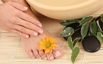 Express Gel Manicure or Pedicure with Return Soak-Off for 1 Person