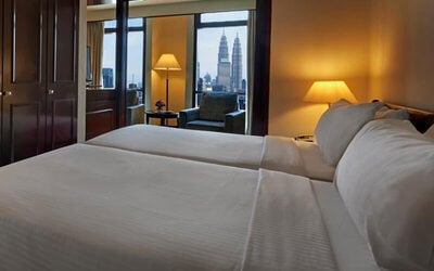 Kuala Lumpur: 2D1N Stay in Studio Suite with Breakfast and 1-Day Pass to Berjaya Times Square Theme Park for 2 People