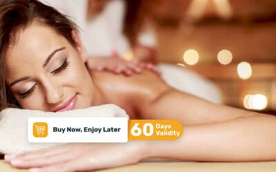1x Body Massage + Body Scrub + Whitening Body Masker + Body Wash (140 Menit)
