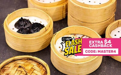 [Flash] Xiao Long Bao Buffet with One (1) Seafood Mini Wok for 1 Person