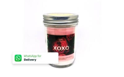 1 Romantic Scented Candle Aromatherapy 7 Oz - Delivery