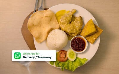 Paket Ayam Telur Asin Komplit - Delivery & Take Away