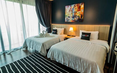 Johor Bahru: 3D2N Stay in Studio for 2 People