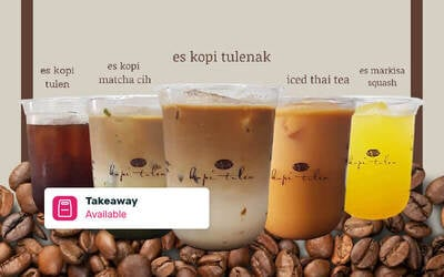 [Buy 1 Get 1] Coffee / Non Coffe - Takeaway & Delivery