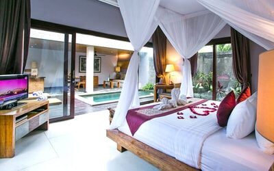 Badung: 3D2N One Bedroom Pool Villa + Breakfast + 1x 15 minutes massage