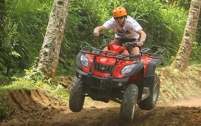 Bali: Quad Bike Adventure for 1 Person (Solo Rider)